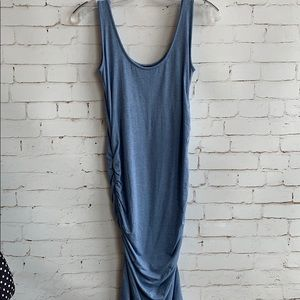 Isabella Oliver Blue Tank Dress Size 0 Maternity